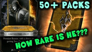 Spec Ops Scorpion Kombat Pack HUGE OPENING. What are the chances to get him (MKX Mobile)