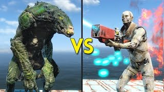 Fallout 4 -  50 GATORCLAWS vs 100 SYNTHS - Battles #54