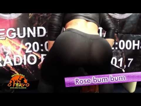 Rose BumBum Vai Tremendo o Bum Bum AO VIVO no Programa O FERVO