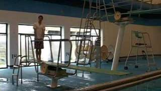 Springboard Diving Techniques : The 5 Step Approach Demonstration