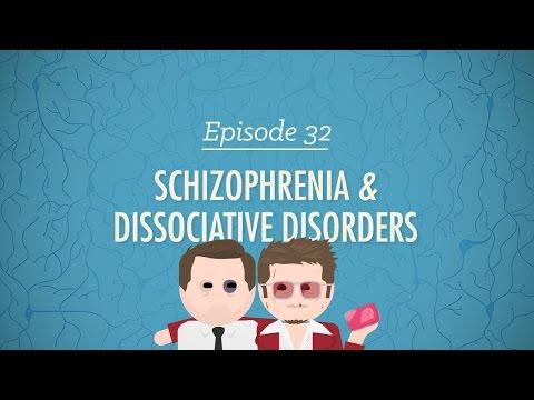 Schizophrenia & Dissociative Disorders: Crash Course Psychology #32