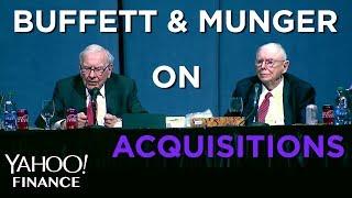Buffett on how Berkshire weighs acquisitions
