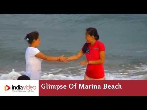Glimpse Of Marina Beach - Chennai Tamil Nadu