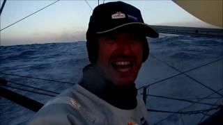 J28 : Jean-Pierre Dick positive après sa faute dans la ZEA / Vendée Globe