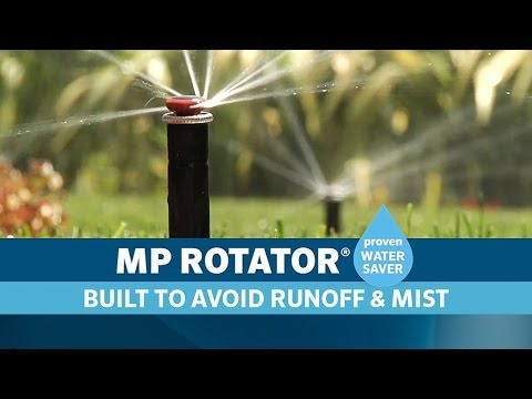 MP Rotator Prevents Runoff and Misting