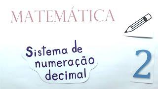 Matemática básica - Aula 02 - Unidade. dezena, centena e unidade de milhar