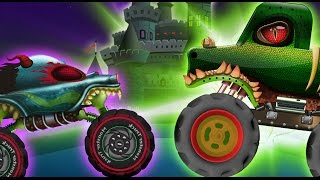 Haunted House Monster Truck - Haunted House Monster Truck | Rise Of The Crypt Keeper  | Episode 18