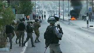 Dozens wounded in ongoing Gaza & West Bank clashes