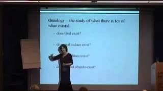 Metaphysics and Epistemology