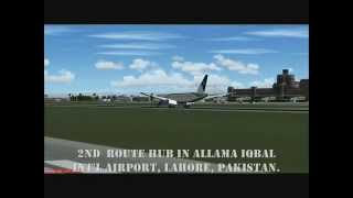 Pakistan International Airlines Simulation Virtual Promotional Video - April 2012