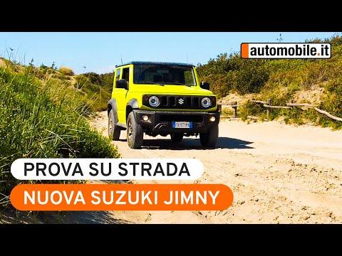 Nuova Suzuki Jimny 2019 Prova su strada