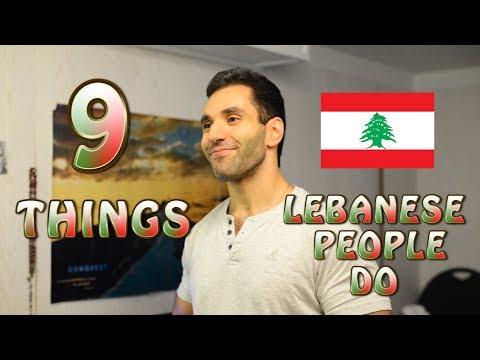 Xxx Mp4 9 Things Lebanese People Do 3gp Sex