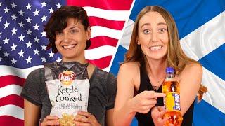 American & Scottish Snack Swap