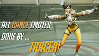 Tracer Performs All Dance Animations!
