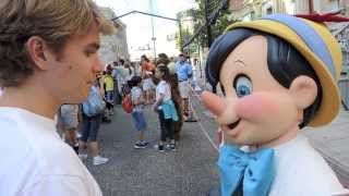 Tommy tells Pinocchio he wants to turn the donkey boys into athletes