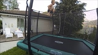 Toby  8 year old Double Front Flip Journey