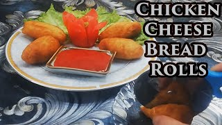 Chicken Cheese Bread Rolls | Asian Foods And Flavors