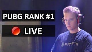 🔴 PUBG Rank #1 EU | Solo vs Squads