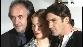 1995 Evita Photocall, Madonna, Antonio Banderas, 1990s Archive Footage