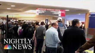 Food Banks, Closed TSA Checkpoints, Second Jobs; Gov