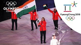 India and Pakistan at the Opening Ceremony | Day 1 | Winter Olympics 2018 | PyeongChang