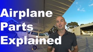 Ep. 2: Airplane Parts Explained | The names of all the parts of the Plane!