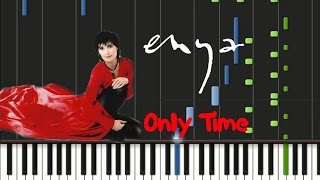 Enya - Only Time Synthesia Tutorial
