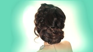 Prom UPDO Hairstyle   EASY WEDDING BRAIDS HAIRSTYLES