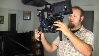 CPM Film tools DSLR RIG Shoulder shooter kit review. - DSLR Film NOOB