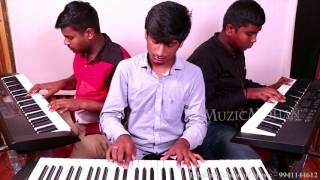 Un Vizhigalil - Maan Karate - Music Cover- MP - MuzicMohan