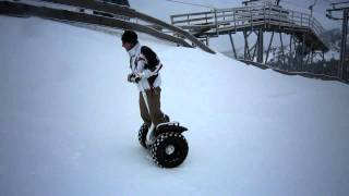 Segway Snow Action