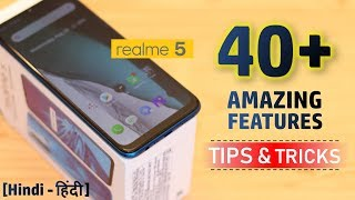 RealMe 5 Tips & Tricks | 40+ Special Features - TechRJ