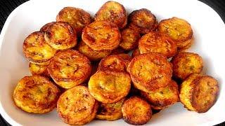 কাঁচা কলা ভাজি রান্না - Bangladeshi Kacha Kola Vaji Recipe - Bangladeshi Vaji Ranna in Bengali