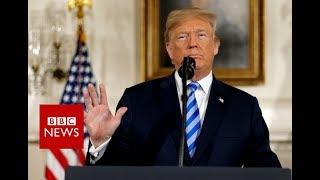 Iran nuclear deal: Trump announces US withdraw - BBC News
