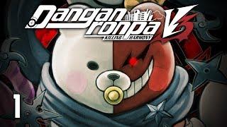 NEW KILLING GAME - Let's Play - Danganronpa V3: Killing Harmony (DRV3) - 1 - Walkthrough Playthrough