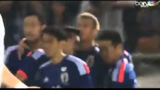 هدف اليابان امام العراق الهدف الاول