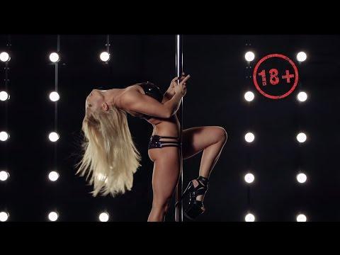 18+ Pole Dance - Anastasia Sokolova - Authors pole dance tricks - New 2015