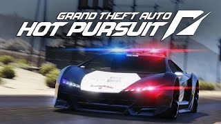 GTA 5 Cops And Robber DLC! 2017 Need For Speed Hot Pursuit in GTA 5 Trailer Remake!