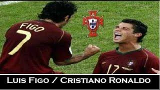Luis Figo & Cristiano Ronaldo - Euro 2004 - Legends | HD