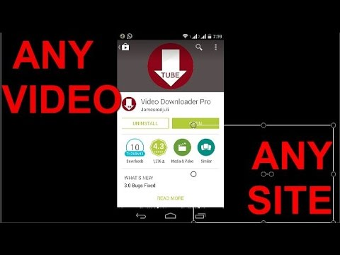 How to download VIDEOS FROM ANY SITE FOR FREE ON ANY ANDROID MOBILES!!(2014)
