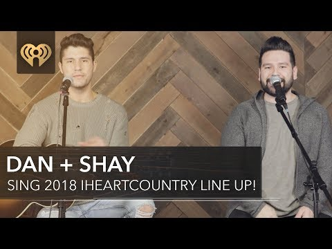 """Dan + Shay Perform """"Tequila"""" + Sing the iHeartCountry Festival Lineup!"""
