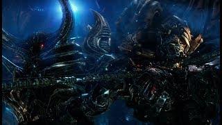 Transformers 5 : The Last Knight - Optimus prime rencontre Quintessa Scene (1080p HD VF)