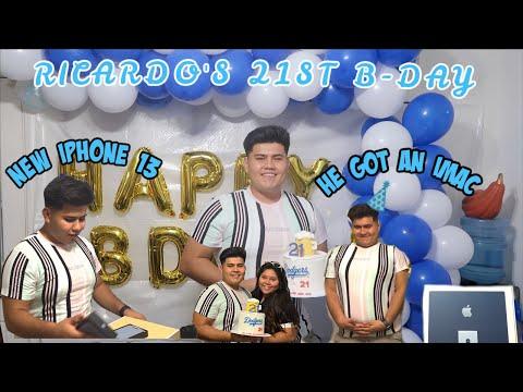 HIS 21ST BIRTHDAY SURPRISES VLOG IMAC IPHONE 13