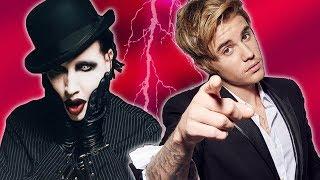 Justin Bieber es Tachado de 'Niña' por Marilyn Manson