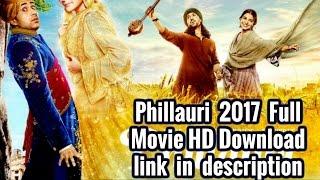 Phillauri  2017 - Full movie HD Download link in description