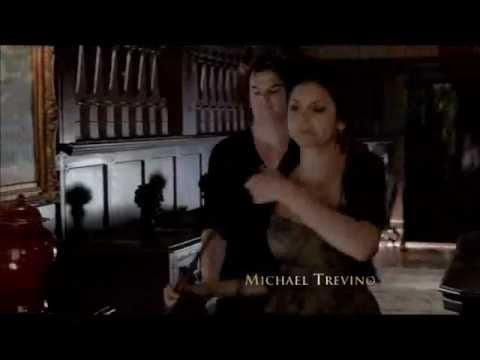 4x08 Damon & Elena scenes morning after  [part 1]