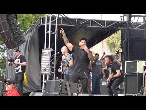 Bad Wolves -  Zombie (The Cranberries Cover) LIVE Welcome To Rockville [HD] 42718