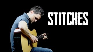 Stitches - Solo Fingerstyle Guitar Version