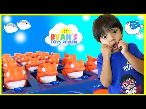 Xxx Mp4 Family Fun Games For Kids Piranha Panic With Egg Surprise Toys 3gp Sex