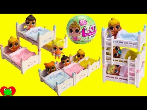 Xxx Mp4 LOL Surprise Lil Sisters Triple Bunk Beds Sleepover 3gp Sex